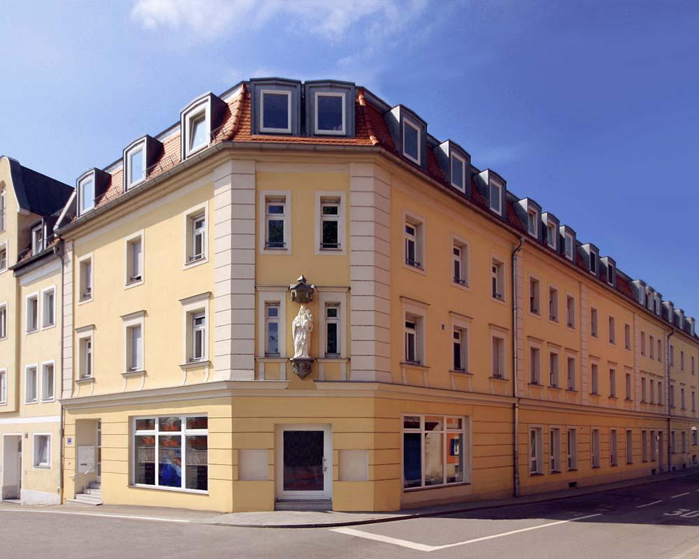 sanierung geschosswohnungsbau in regensburg steinweg nowak und thaler architekturb ro. Black Bedroom Furniture Sets. Home Design Ideas
