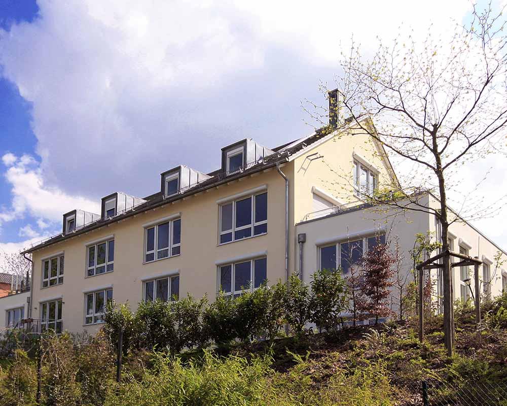 mehrfamilienhaus in regensburg 2006 nowak und thaler architekturb ro regensburg ingolstadt. Black Bedroom Furniture Sets. Home Design Ideas